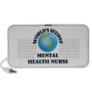 La enfermera de la salud mental más atractiva del iPod altavoces