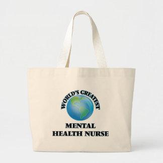 La enfermera de la salud mental más grande del bolsa