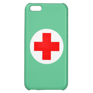 La enfermera friega verde