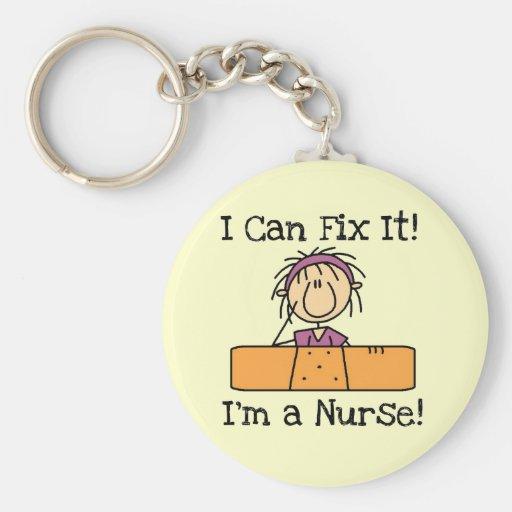 La enfermera I puede fijarlo las camisetas y los r Llaveros