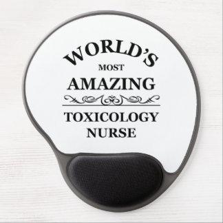 La enfermera más asombrosa de la toxicología del m alfombrilla gel