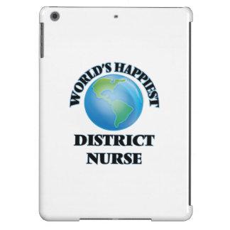 La enfermera más feliz del distrito del mundo funda para iPad air