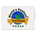 La enfermera más fresca de Psych del mundo Felicitación