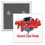 La enfermera más grande del cuidado de la herida d pins