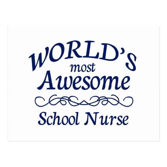 La enfermera más impresionante de la escuela del postales