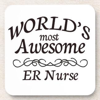 La enfermera más impresionante del ER de los mundo Posavasos De Bebida