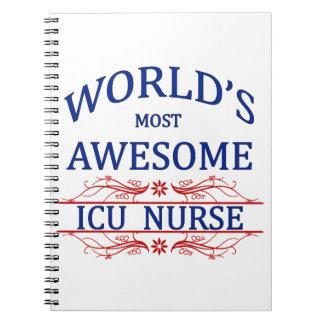 La enfermera más impresionante del ICU del mundo Libreta