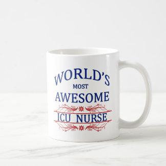 La enfermera más impresionante del ICU del mundo Tazas De Café