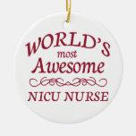 La enfermera más impresionante del NICU del mundo Adorno De Navidad