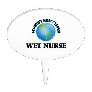 La enfermera mojada más lista del mundo palillos de tarta