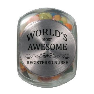 La enfermera registradoa más impresionante del mun jarrones de cristal