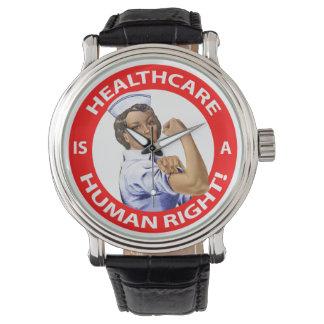 """¡La enfermera """"Rosie"""" dice que la """"atención Reloj De Mano"""