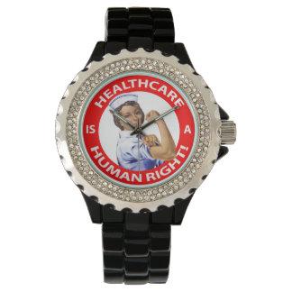 """¡La enfermera """"Rosie"""" dice que la """"atención Relojes De Mano"""