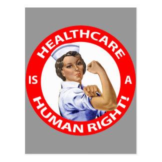 """¡La enfermera """"Rosie"""" dice que la """"atención sanita Postales"""