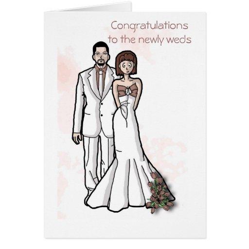 La enhorabuena a se casa nuevamente tarjeton