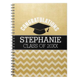La enhorabuena gradúa - la graduación libro de apuntes con espiral