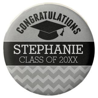 La enhorabuena gradúa - la graduación negra de