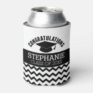 La enhorabuena gradúa - la graduación enfriador de latas