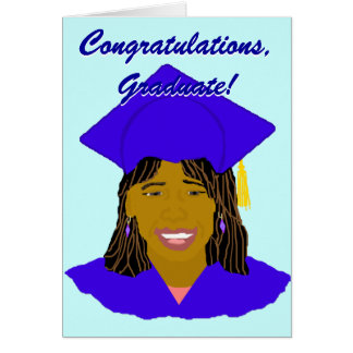 La enhorabuena gradúa la tarjeta religiosa de la g