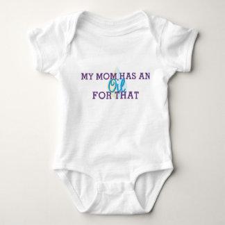 La enredadera del bebé mi mamá tiene un aceite body para bebé