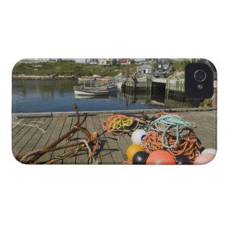 La ensenada de Peggy, Nueva Escocia, Canadá 2 iPhone 4 Case-Mate Cobertura