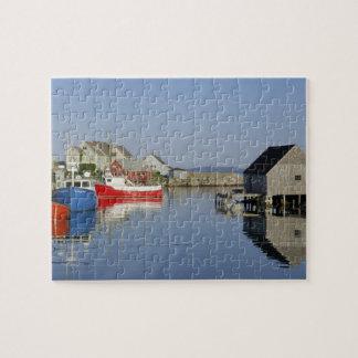 La ensenada de Peggy, Nueva Escocia, Canadá Puzzle