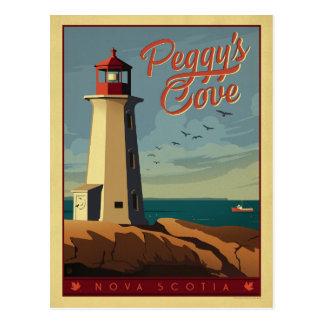 La ensenada de Peggy, Nueva Escocia Postales
