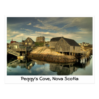 La ensenada de Peggy, Nueva Escocia Tarjetas Postales