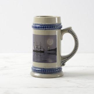 La ensenada del pirata tazas de café