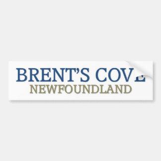 La ensenada Terranova de Brent Pegatina Para Auto