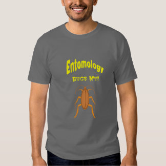 La entomología me fastidia remeras