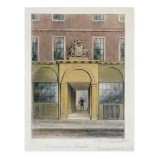 La entrada a los tejedores Pasillo, 1854 Tarjeta Postal