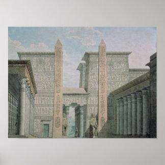 La entrada al templo escena iii del acto I Impresiones