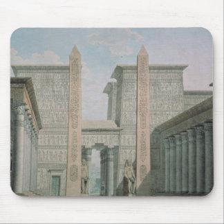 La entrada al templo, escena iii del acto I Mouse Pads