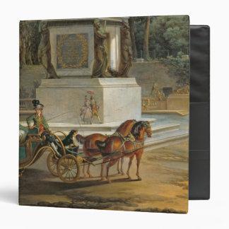 "La entrada al Tuileries Carpeta 1 1/2"""
