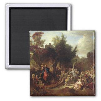La entrada de Cristo en Jerusalén, c.1720 Imán