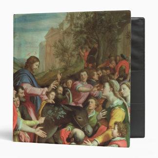 """La entrada de Cristo en Jerusalén Carpeta 1 1/2"""""""