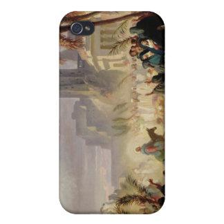 La entrada de Cristo en Jerusalén iPhone 4 Cárcasa