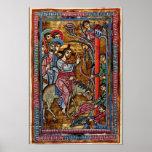 La entrada de Cristo en Jerusalén por DES Perik de Posters