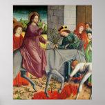 La entrada de Cristo en Jerusalén Poster