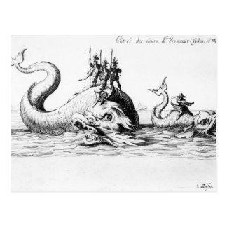 La entrada de los señores de Vroncourt, Tyllon Postal