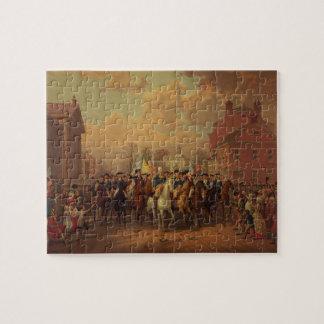 La entrada New York City de Washington del día de  Puzzle