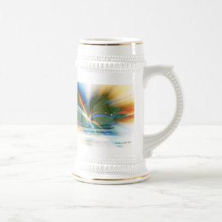 La entrada taza de café