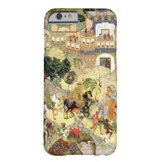 La entrada triunfante de Akbar del emperador en Funda Para iPhone 6 Barely There