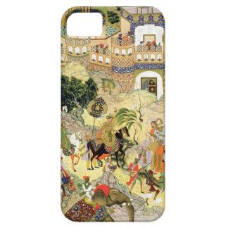 La entrada triunfante de Akbar del emperador en iPhone 5 Fundas