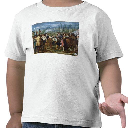 La entrega de Breda, 1625, c.1635 Camisetas