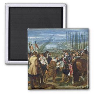 La entrega de Breda, 1625, c.1635 Imán Cuadrado