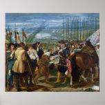 La entrega de Breda, 1625, c.1635 Impresiones