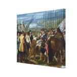 La entrega de Breda, 1625, c.1635 Impresión De Lienzo