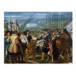 La entrega de Breda, 1625, c.1635 Postales